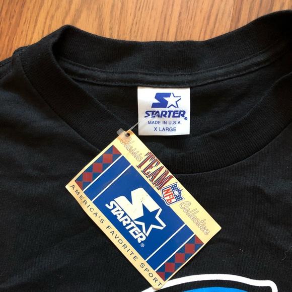 NWT Vintage Carolina Panthers Starter T- Shirt f17249b48